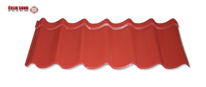 Mediteran - segment u obliku crepa